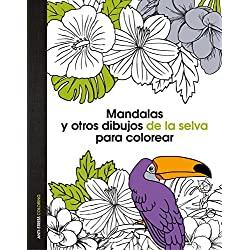 Mandalas-dibujos-colorear-Anti-Stress-Coloring-mandalas-y-otros-dibujos-de-la-selva-para-colorear