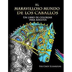 El-Maravilloso-Mundo-Los-Caballos-Mandalas-de-Caballos-para-dibujar-y-relajarse