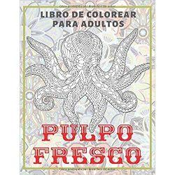 Pulpo-fresco-Libro-colorear-adultos-libro-colorear-mandalas-de-pulpos