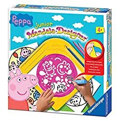 Peppa-Pig-Mandala-Designer-Ravensburger-DISEÑO-DE-MANDALAS-Peppa-Pig-Juego-de-diseño-de-mandalas-books
