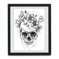 tatuaż czaski Łódź