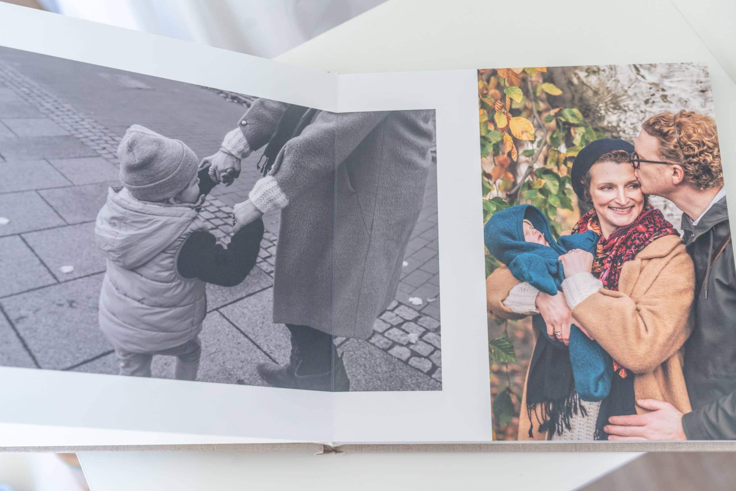 Fotoalbum für Familienfotos in Bremen