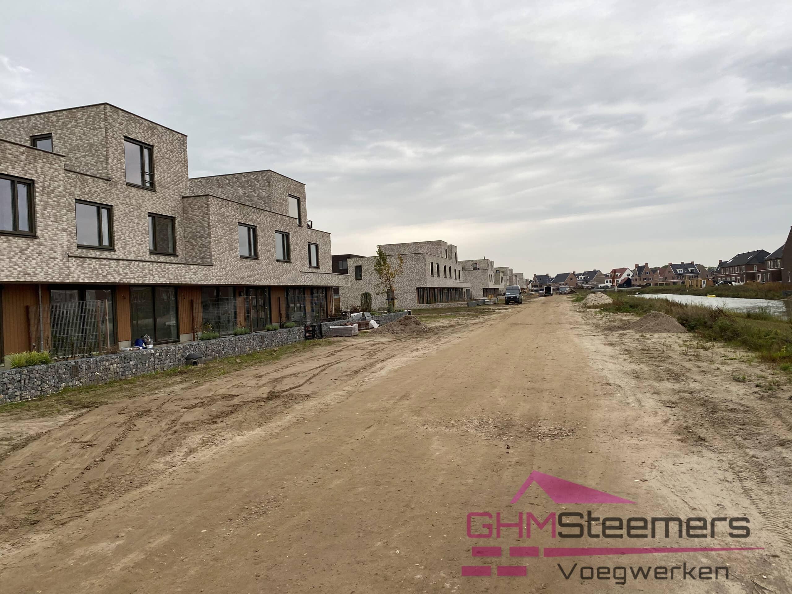 Parkhouses Parijsch   Gevoegd door voegersbedrijf G.H.M. Steemers Voegwerken