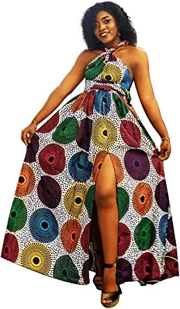 Amazon African inspired danshiki long dress