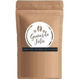 paquet de café en grains