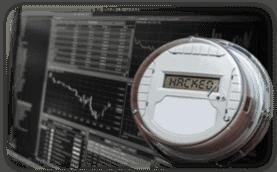Hacked electrical meter