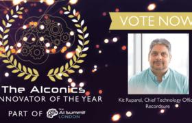 AI-Innovator-of-the-Year-AIconics Awards-Kit Ruparel-Recordsure