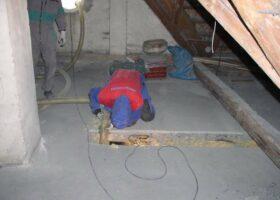 Referencia izolácie trámového stropu Zvolen 2