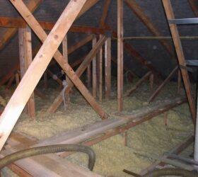 Referencia izolácie väzníkového krovu Moštenica