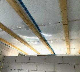 Fúkaná izolácia sádrokartónového stropu