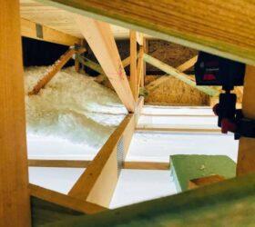 Fúkaná izolácia väzníkový krov