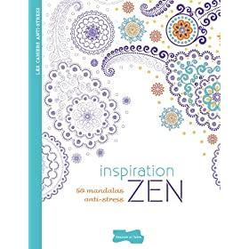 Inspiración ZEN- dibujos para colorear para adultos
