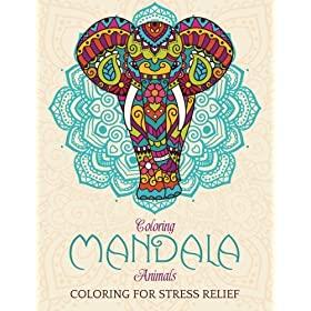 Elephant-Mandala-Designs-Relaxing-Coloring-coloring-mandala-animals-coloring-elefante-Mandalas de Elefantes para colorear y relajarse