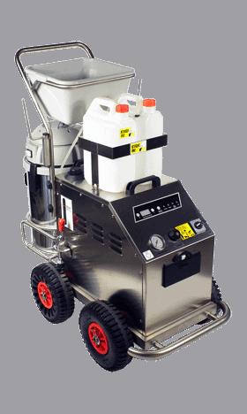 Contractor nettoyeur vapeur professionnel version carénée - Jupiter plus nettoyeur vapeur sèche professionnel - Les nettoyeurs vapeurs professionnels KSG