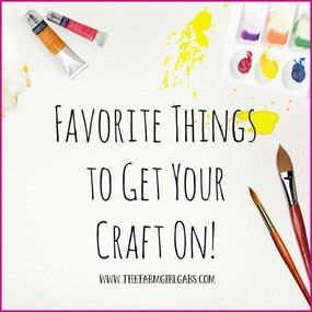 Favorite Craft & DIY Resources from The Farm Girl Gabs.