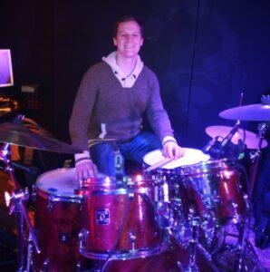 Gavyn Holt, Teaching Drum Set in Toronto