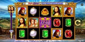 Triple Da Vinci Diamonds Slot