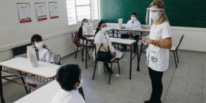 Distanciamiento dentro del aula de la provincia de Buenos Aires