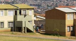 Two-storey community housing