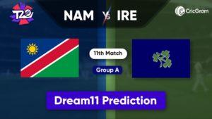 NAM vs IRE Dream11 Team Prediction T20 World Cup 2021