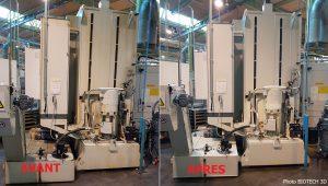 nettoyage vapeur industrie mécanique nettoyeur vapeur industriel-GALAXY-18-kw