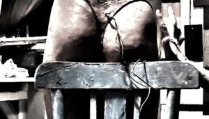 escultura de cuerpo femenino
