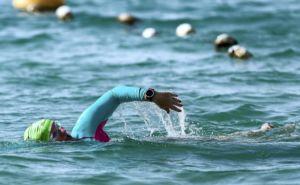 Channel swim