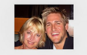 Kristina Stosek and Curtis Stone