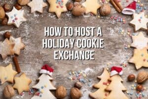 The Christmas season is here! Let's have some holiday baking fun. Follow these tips on How To Host A Holiday Cookie Exchange and share some baking love with your friends. Download this free Christmas printable Cookie Exchange guide. It includes tips and ideas on how to plan the ultimate Christmas Cookie Exchange as well as invitations and recipe cards.
