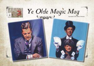 ye olde magic mag #4 - dai vernon cardini samek, houdini, pinetti, marco pusterla