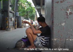 Filipina Aquino Redozola dengan hairan anjing Blackjack status quo