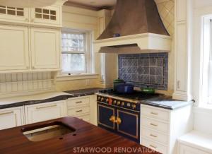 Denver cherry creek colonial kitchen remodel custom stove hood