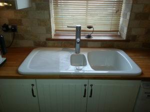 Sink & tap, tiles upgrade