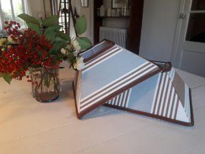 Abat-jour Pyramide en tissu