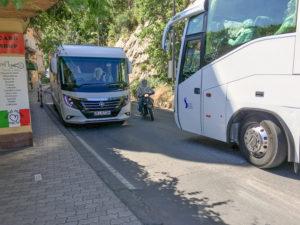 IMG_5055 traffic jam almalfi coast highway sorrento italy