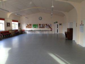 Silver Band Hall Interior