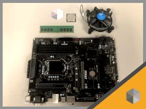 6. MB, CPU and Memory Collection for 6 GPU setup