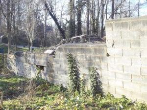 Concrete Retaining Wall Failure Slatter HOA Management