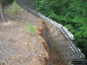 Retaining Wall Failure - Slatter HOA Management