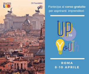 up to youth Roma - diventa imprenditore