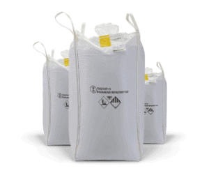 Special bags, UN Bag for product showcase bar