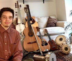 James Duff Guitar Ukulele Bass Teacher Toronto