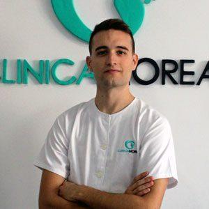 Sergio Calle, Fisioterapeuta en Clínica Moreau