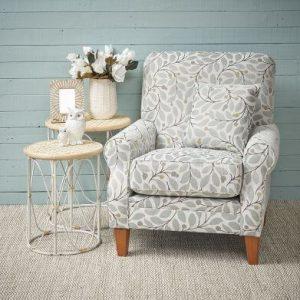 armchair side table