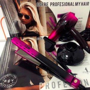 Cofre Profesional Muy Hair Pack plancha y Secador - distribuciones ti