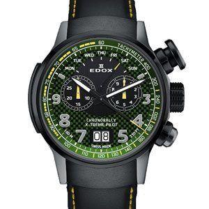 Edox Chronorally X-Treme Pilot Limited Edition