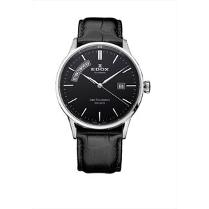 Edox Horloge Les Vauberts Day Date Automatic 83007 3 NIN
