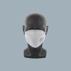 mannequin portant masque sans valve