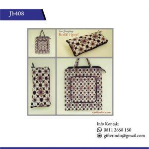 JB408 - Tas Jinjing Batik Lipat Unik