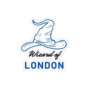 استیکر لپ تاپ جادوگر لندن